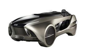 Mitsubishi EMIRAI 4 - Xe thể thao mui trần đến từ tương lai