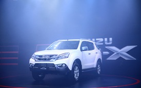 Isuzu MU-X dính lỗi phải triệu hồi tại Việt Nam