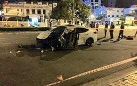 Lái ô tô đâm trúng bùng binh, nam thanh niên tử vong thương tâm đúng ngày sinh nhật