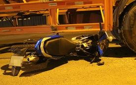 Lao Winner vào xe đầu kéo, nam thanh niên tử vong
