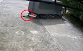 Clip nữ công nhân bị xe tải cán tử vong khi đi bộ trong sân nhà máy khiến nhiều người bàng hoàng