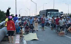 Tai nạn liên tiếp ở cầu Bình Phước, 3 người thương vong
