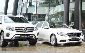Mercedes-Benz Việt Nam bàn giao lô xe cho dịch vụ vận chuyển cao cấp Parrot Luxury Cars
