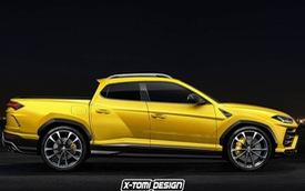 Sẽ ra sao nếu Lamborghini Urus biến thành xe bán tải?