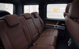 Mercedes-Benz G-Class 2019 tiếp tục khoe chi tiết nội thất