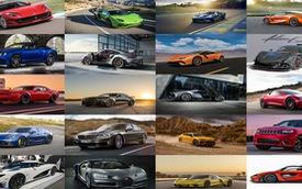 20 mẫu xe nhanh và mạnh nhất năm 2017