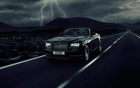 """""""Kỵ sỹ bóng đêm"""" Rolls-Royce Dawn Black Badge trình làng"""