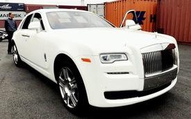 Rolls-Royce Ghost Series II cập bến Việt Nam vào chiều 28 Tết