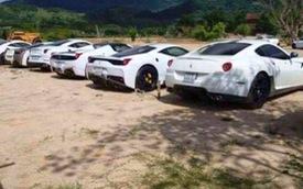 """Lộ diện bộ sưu tập siêu xe Ferrari cực """"khủng"""" của đại gia Trung Nguyên"""