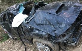 Hà Giang: Toyota Fortuner lao xuống vực sâu, 1 người tử vong