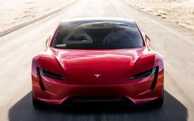 """VIDEO: Xem 1,9 giây tăng tốc """"nhanh hơn máy bay phản lực"""" của Tesla Roadster thế hệ mới"""