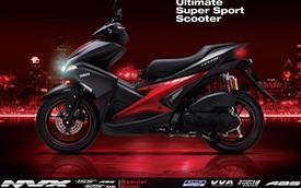 Yamaha NVX có thêm màu sơn mới, tặng thêm cặp phuộc dầu cho bản 155 phân khối