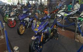 Dàn Yamaha Exciter độ độc đáo tụ tập tại Sài thành