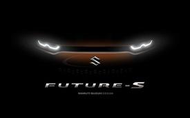 Maruti Future S Concept - đàn em Suzuki Vitara nhá hàng trước giờ ra mắt