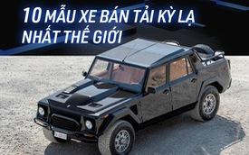 Fan cuồng bán tải cũng chưa chắc biết tới 10 mẫu xe cực hiếm này