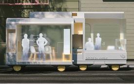 IKEA thiết kế phương tiện tự lái kết hợp quán cafe, phòng ngủ và cả phòng họp phục vụ công việc
