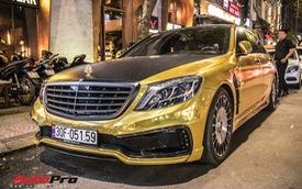 """Sài Gòn: Mercedes-Benz S500 """"lên đời"""" S600 Maybach cùng decal phong cách Dubai"""