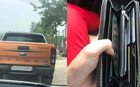 Lái xe Ranger tốt bụng, đuổi theo 20km trả lại ví có 20 triệu cho tài xế ô tô ở Hà Nội