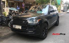 """Range Rover Autobiography của đại gia Sài Gòn """"đen từ đầu đến chân"""" đeo biển tứ quý 7"""