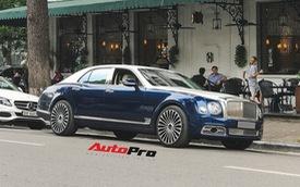 """Đã độc nhất Việt Nam, chiếc Bentley Mulsanne này vẫn đổi màu đúng """"trend"""""""