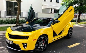 Chevrolet Camaro cũ độ cửa Lamborghini nhưng có giá ngang Toyota Camry