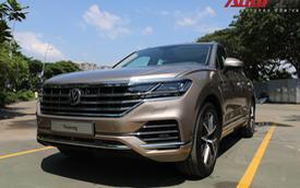 Volkswagen Touareg có mặt tại Sài Gòn, chuẩn bị cho Triển lãm Ô tô Việt Nam 2018