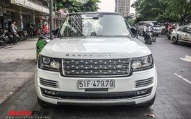 Range Rover Autobiography LWB trắng muốt mang biển số hai ông thần tài lớn của đại gia Sài Gòn