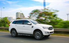 Khám phá Ford Everest mới tại Triển lãm ô tô Việt Nam 2018: SUV 7 chỗ hút khách