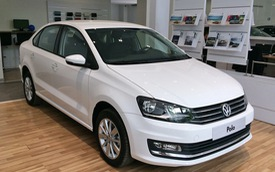 VW Polo thanh lý từ 549 triệu đồng - Xe Đức cạnh tranh Toyota Vios và Honda City