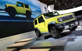Suzuki Jimny được săn đón tại Paris Motor Show 2018