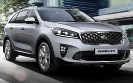 Kia Sorento facelift 2019 ra mắt Đông Nam Á, đấu Toyota Fortuner