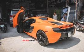 """Siêu xe McLaren 650S mang màu sơn dễ lầm tưởng là xe của Minh """"nhựa"""""""
