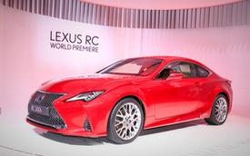 Lexus RC tiếp tục được trẻ hóa, cạnh tranh Mercedes-Benz C-Class Coupe