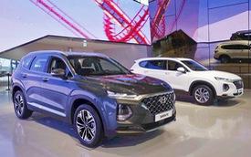 Chi tiết Hyundai Santa Fe 2019 sắp bán ở Việt Nam: Khung cứng hơn, động cơ mạnh hơn, hộp số hoàn toàn mới