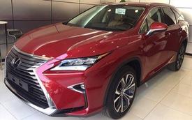 Chậm chân hơn hàng tư nhân, Lexus RX 350L 7 chỗ chính hãng định giá 4,09 tỷ đồng