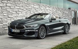 BMW 8-Series mui trần bất ngờ lộ trọn vẹn ảnh chính thức