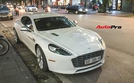 Đại gia Hà thành mua lại Aston Martin Rapide S đầu tiên Việt Nam