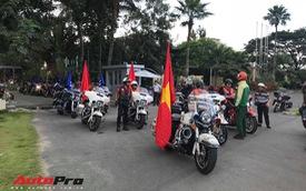 Hàng trăm mô tô khủng và siêu xe tề tựu tại Sài Gòn