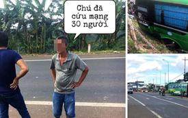 Sự thật về vụ tài xế bỏ lái, hành khách ôm vô lăng cứu 30 người khỏi lao xuống vực