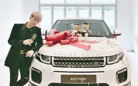 Đức Phúc sắm Range Rover Evoque hơn 3 tỷ đồng sau 3 năm vào nghề