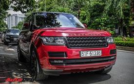 Range Rover Autobiography LWB màu đỏ độc đáo của đại gia sở hữu Lamborghini Huracan và McLaren 650S Spider