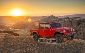 Đây là Jeep Gladiator - Bán tải được mong chờ nhất nước Mỹ cạnh tranh Ford Ranger, Chevrolet Colorado