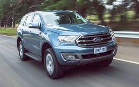 Đại lý tiết lộ giá Ford Everest 2018 tiêu chuẩn từ 999 triệu đồng, bán ra tháng 12
