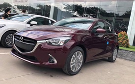Mazda2 mới, nhập khẩu Thái Lan đã về đại lý với nhiều thay đổi bên trong, giá dự kiến từ 509 triệu đồng