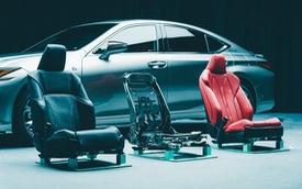 Lexus mất tới 3 năm chỉ để sản xuất một ghế xe