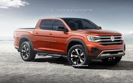 Cuộc hôn phối bán tải đáng chờ đợi: Volkswagen Amarok 2022 mang dáng hình Ford Ranger