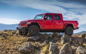 """Jeep Gladiator: """"Đấu sĩ"""" cạnh tranh Ford Ranger, Chevrolet Colorado ra mắt"""