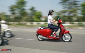 Loạt xe máy điện thông minh VinFast chạy thử tại Hà Nội ngay sau khi ra mắt
