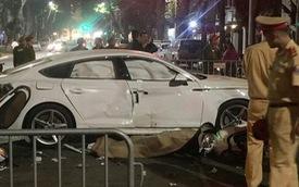 Người cầm lái xe Audi va chạm với xe máy khiến 3 người thương vong tại Hà Nội