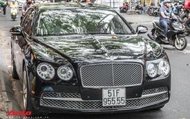 Xe siêu sang Bentley Flying Spur V8 biển số tứ quý 5 của đại gia Sài Gòn